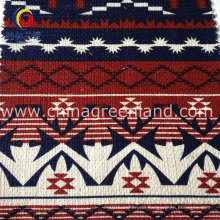 Cotton Linen Printed National Fabric for Garment Textile (GLLML104)
