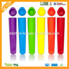 BPA Free Eco-friendly Silicone Ice Cream Popsicle Moule / Silicone Popsicle Moules