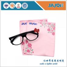 Promotion Logo Printed Microfiber Eyeglasses Cloth