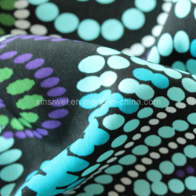 Washed Velvet Fabric with Printed 100% Polyester