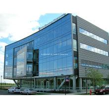 Mur de rideau en verre à faible consommation d'énergie à faible réduction d'énergie