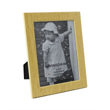 Wooden Grain Metal Picture Frame for Home Deco