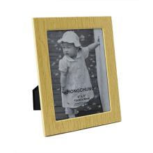 Cadre en métal en grains en bois pour Home Deco