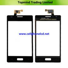 Panneau tactile pour téléphone cellulaire pour LG Optimus L5 E610