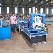 Cangzhou metal channel steel beam c/z quick interchange purlin roll forming machine for c and z purlin