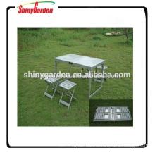 Mesa y silla portátil Mesa y silla para acampar