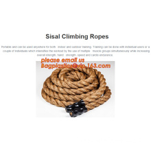 Gym Climbing Rope, Climbing Rope With Hook, Sisal Climbing Ropes, Climbing Rope With Hook