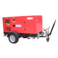 Brand new silent used generator with noise abasement canopy
