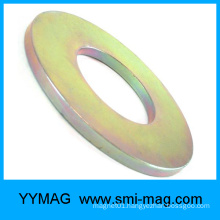 Low speed permanent magnet generator rare earth ring magnet
