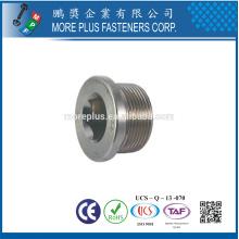 DIN908 plugs with parallel screw thread Hexagon socket screws