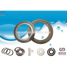 butterfly valve with spiral wound gasket