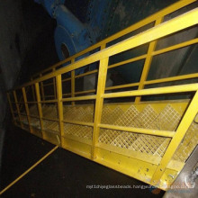 FRP/GRP Grating, Fiberglass Pultruded Grating, Pultruded Profiles, GRP/FRP Stair Treads