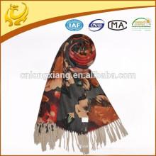 ODM custom available sample lady jacquard lã xales
