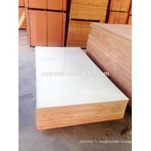 Contreplaqué revêtu HPL, populaire et bois dur utilisé pour la fabrication de meubles et de décoration
