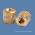 Tuercas de tornillo redondas de latón automático de diseño personalizado