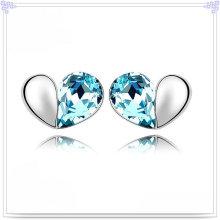 Brinco de moda jóias de cristal 925 brinco de prata esterlina (se150)