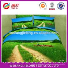100% polyester sentir chaud et tissu près du corps pour faire des draps de lit pas cher prix