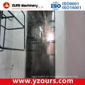 Completa línea de recubrimiento de polvo de placa de acero inoxidable