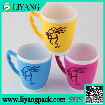 Simple Red Design, Heat Transfer Film for Plastic Cup