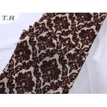 Tissu jacquard floral de tissu de sofa de Chenille pour le sofa et les meubles