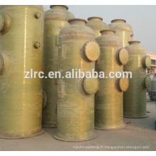Les tours de désulfuration de fibre de verre enlèvent l'épurateur de composés soufrés ou soufrés