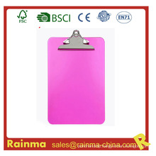 A4 Size Hanging Plastic Clipboard