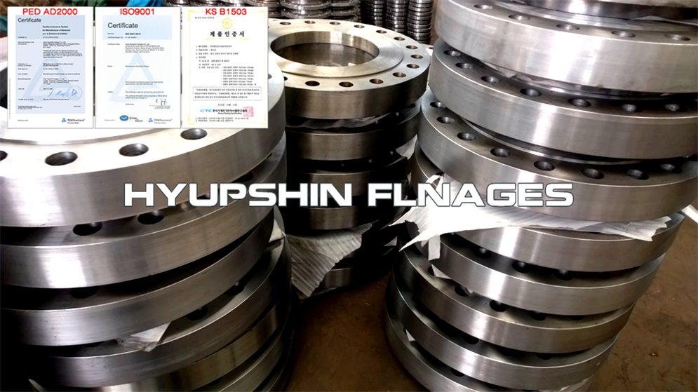 Hyupshin Flanges B16 5 Socket Welding 300 600 900 1500 2500