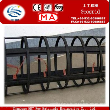 125 Geomalla de plástico de acero Kn / M para refuerzo del suelo