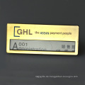 Made In China Custom Design Günstige Magnetische Rechteckige Namensschild Namensschild