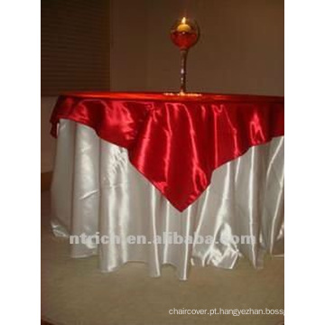 toalha de mesa cetim lindo, tampa de tabela
