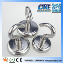 Neodymium Pot Magnets Strong Hook Magnets for Kitchen Magnets