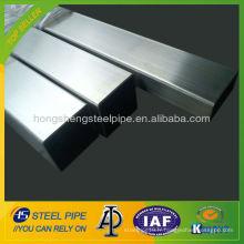 Tube carré en acier inoxydable 316