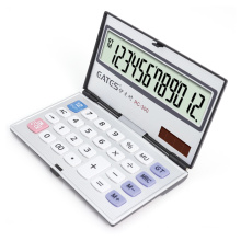 Hot Selling Foldable Design 12 Digits Portable General Calculator Office Student Use Electronic Calculator