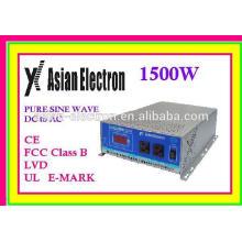 Inversor 1500W 220VAC de alta eficiencia