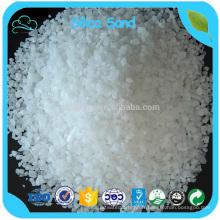 Sable évalué élevé de sable de silice / sable de quartz de prix usine de Si02 98% pour le verre