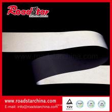 Media intensidad reflectante PVC microfibra de cuero para zapatos