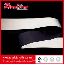 Média intensidade refletivo PVC Microfibra couro para sapatos