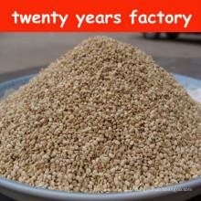 Coussinets de maïs abrasifs pour le séchage et le polissage des métaux.