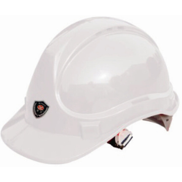 Capacete do trabalho da segurança do ABS dos tampões do mineiro para a construção (CE & ANSI)