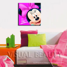 Minnie Pictures Wall Printing Cartoon Painting