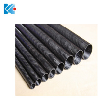 Professional custom 3k carbon fiber tube 50mm with twill finish