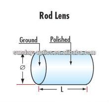Lentille cylindrique de verre optique de traitement de K9 de haute précision