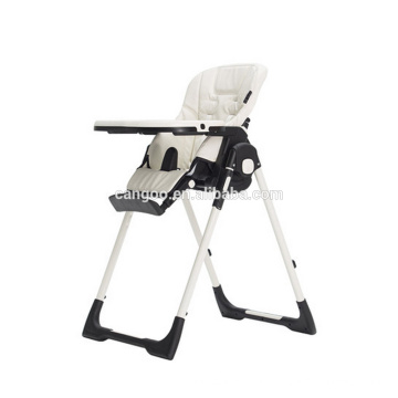 Adjustable High Quality Make Up High Chair For Elderly / Baby Sitting Chair With 5-point Harness