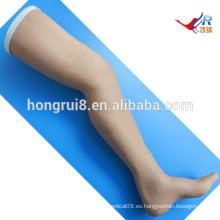 ISO Surgical Suture modelo de entrenamiento, Suture leg