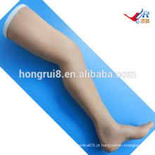 Modelo de treinamento de sutura cirúrgica ISO, perna de sutura