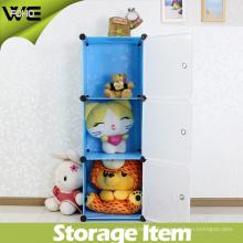Petits bacs de rangement décoratifs modernes réglables faits sur commande de bricolage pour des enfants