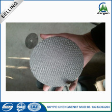 0.2 MM putaran Stainless Steel Filter cakram