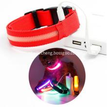Led light dog collar