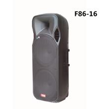Doble altavoz Bluetooth de 15 pulgadas con micrófono inalámbrico F86-16