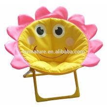 silla de luna plegables para niños portátil de dibujos animados